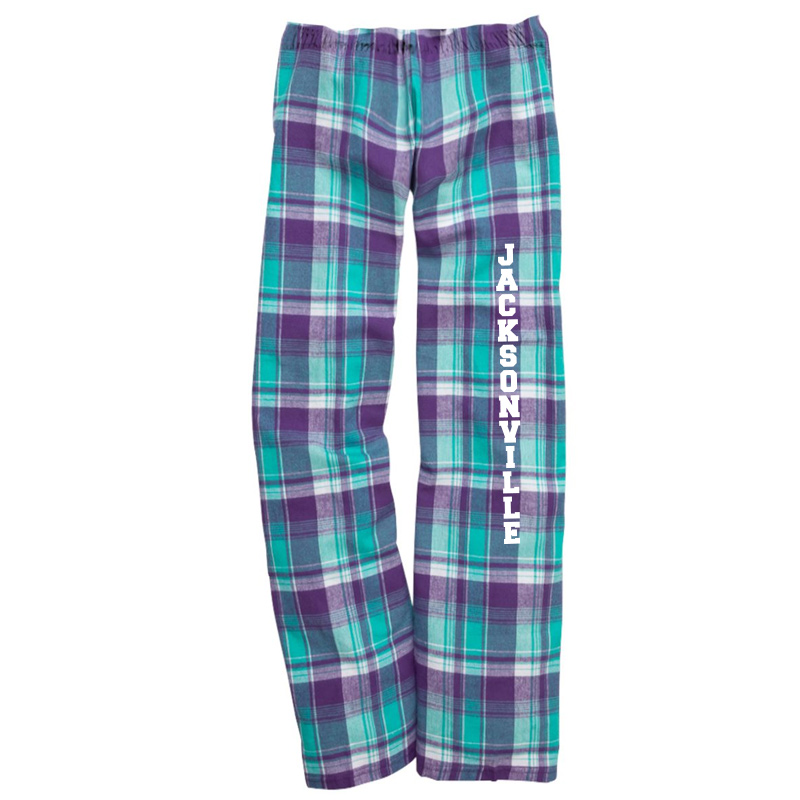 Jacksonville Elementary  Flannel Pants with Pockets  - Bejeweled
