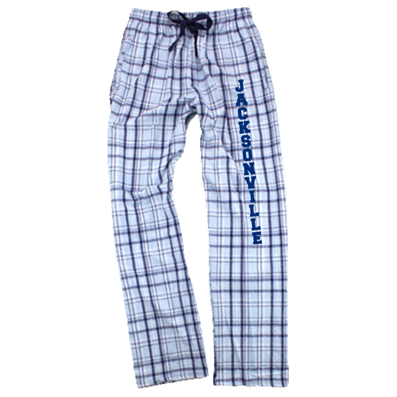 Jacksonville Elementary Text  Flannel Pant