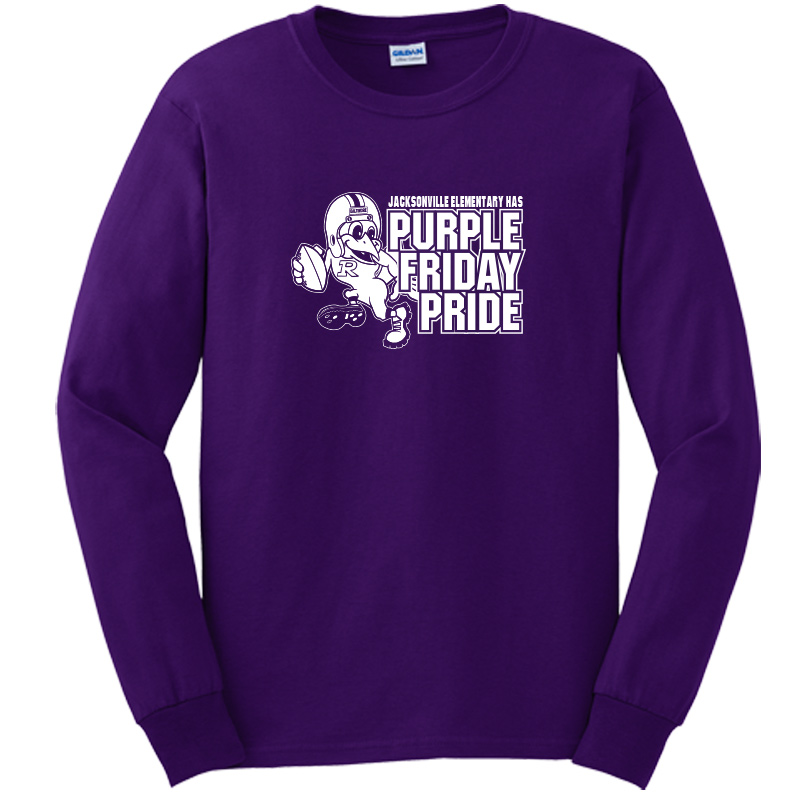 JES Purple Friday  Long Sleeve Tee -