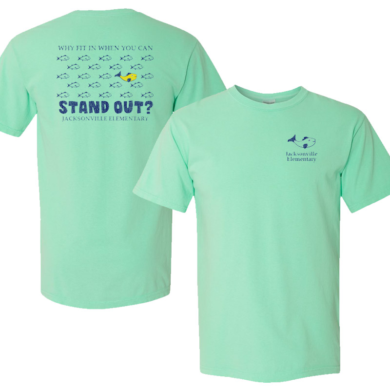 JES Standout Youth Short-Sleeve T-Shirt - island reef