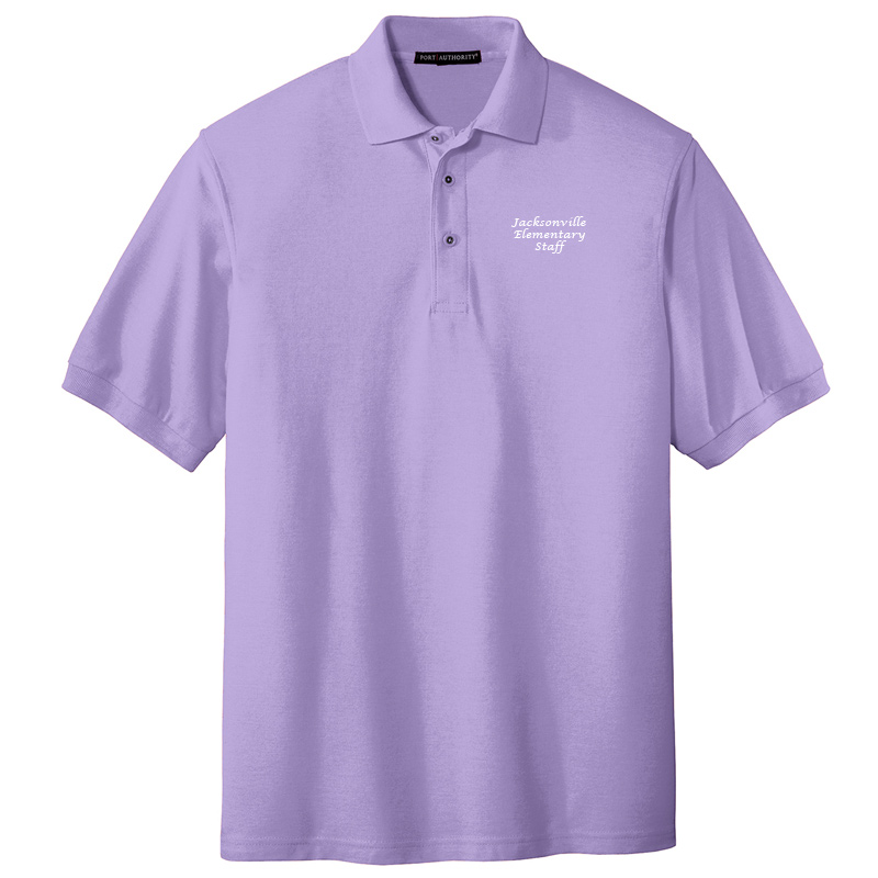 JES  Silk Touch Polo - Bright Lavender