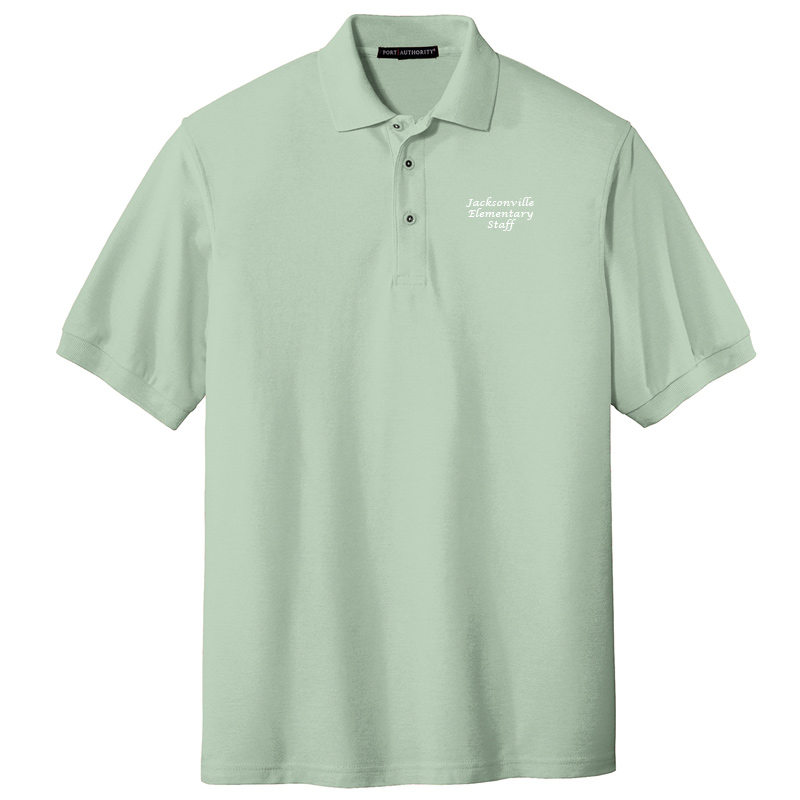 JES  Silk Touch Polo - Mint Green