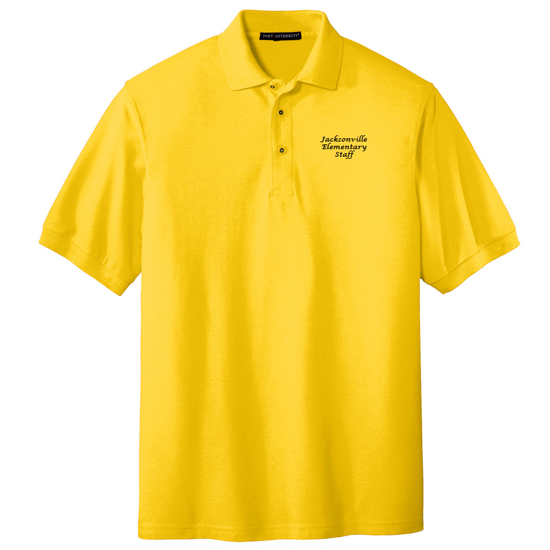 JES  Silk Touch Polo - Sunflower Yellow
