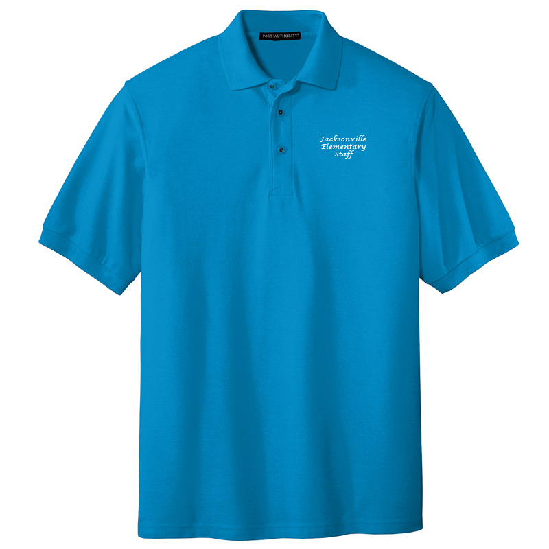 JES  Silk Touch Polo - Turquoise