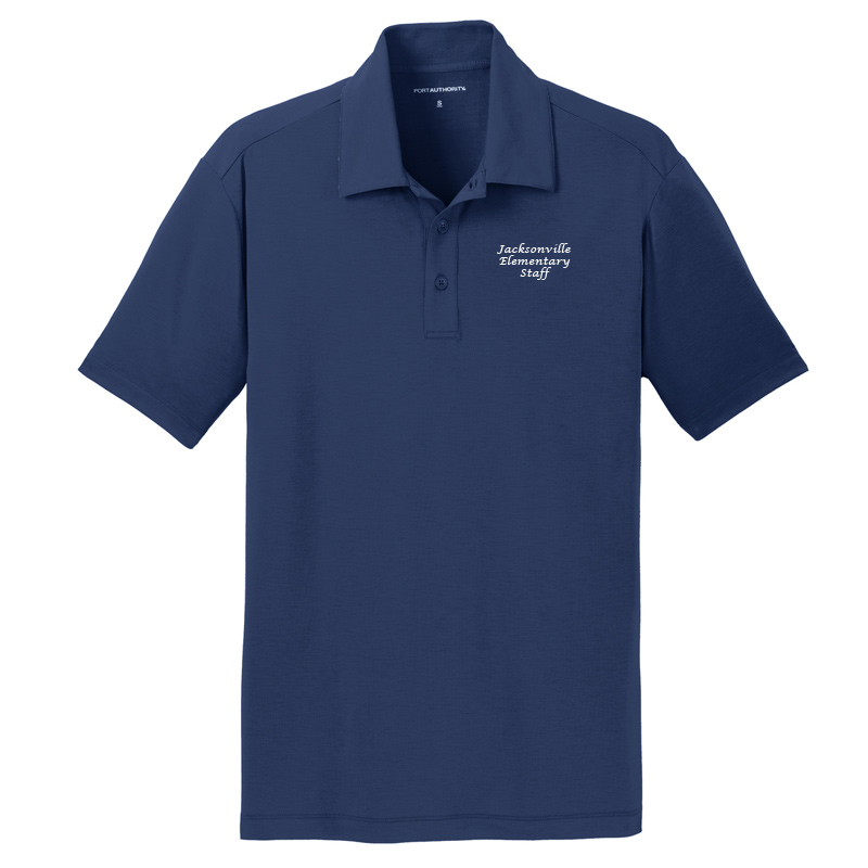 JES  Cotton Touch Polo - Estate Blue