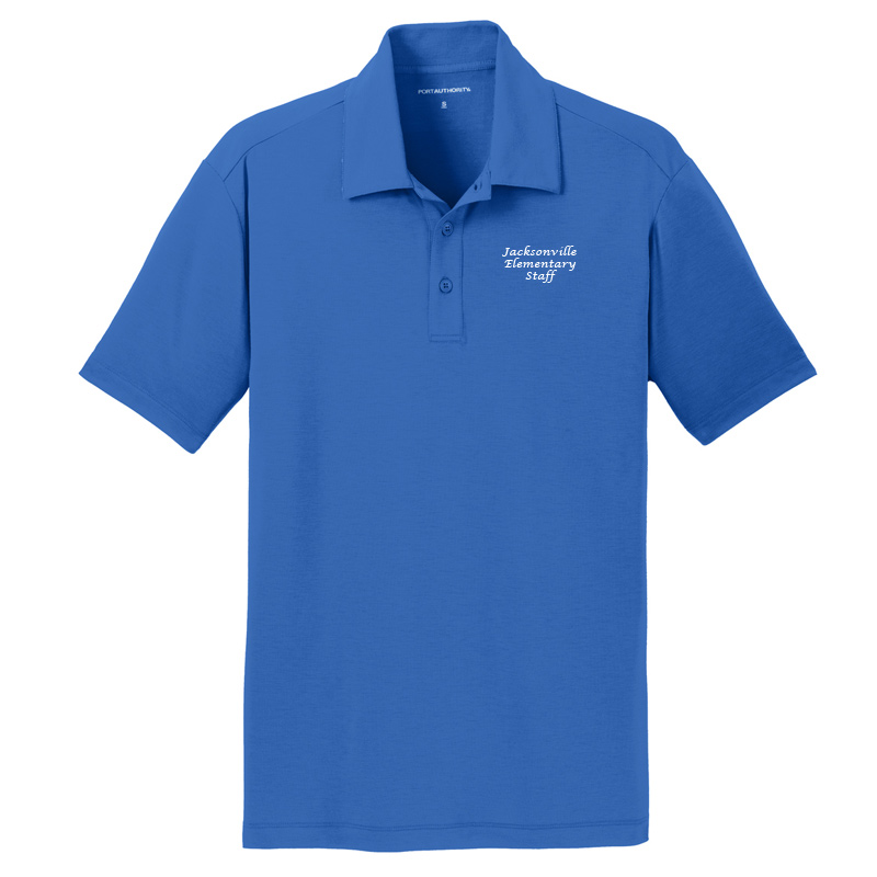 JES  Cotton Touch Polo - Strong Blue