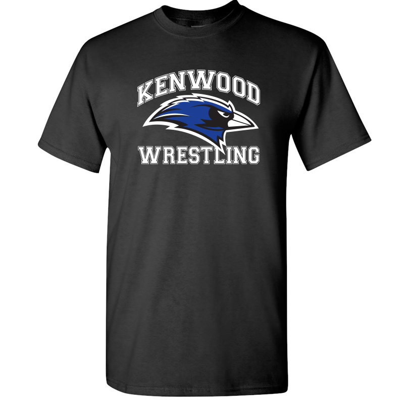 Kenwood Wrestling T-Shirt - Black