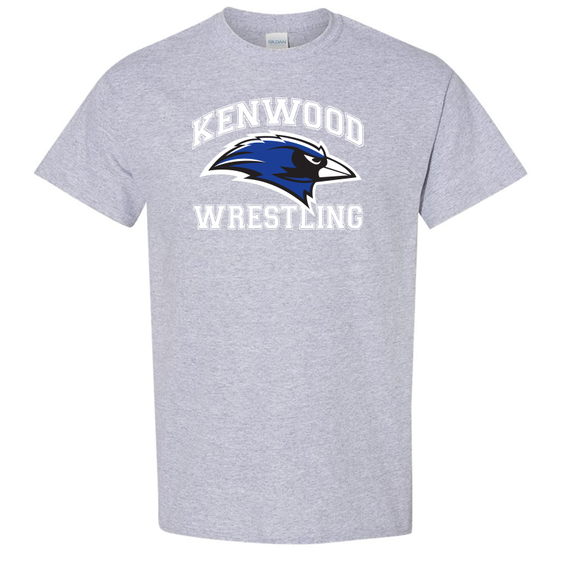 Kenwood Wrestling T-Shirt - Sport Grey