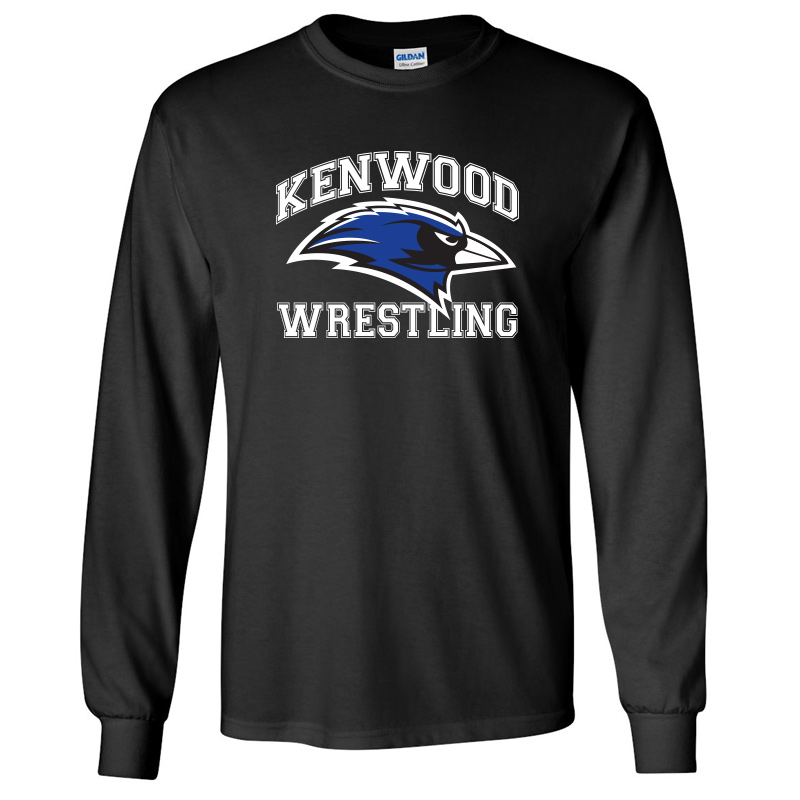 Kenwood Wrestling Long-Sleeve T-Shirt - Black