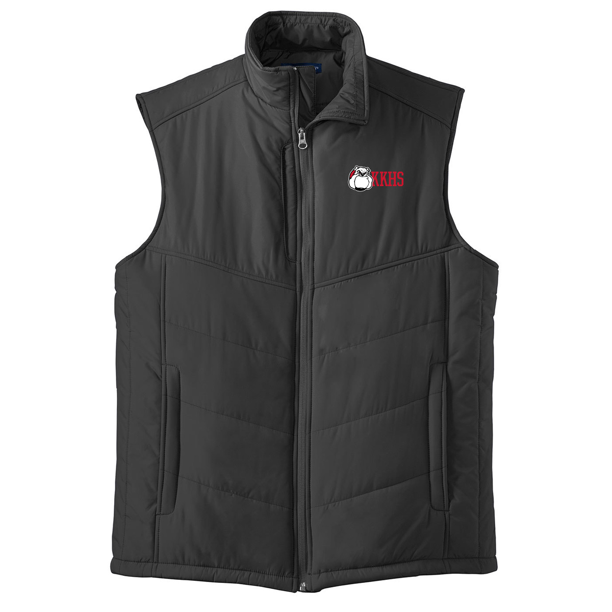 Kennedy Krieger High School Puffy Vest - Black