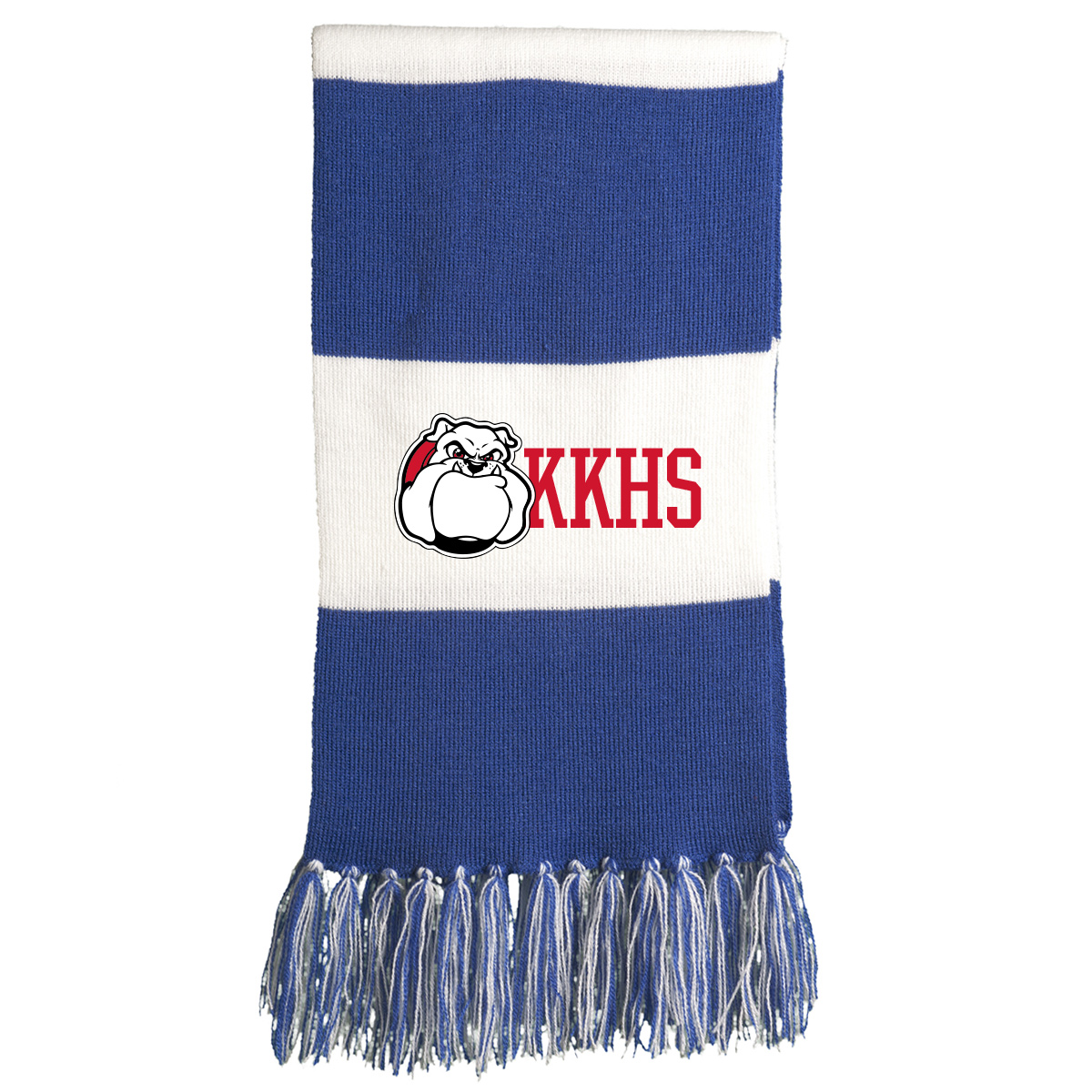 Kennedy Krieger High School Spectator Scarf - Royal/White