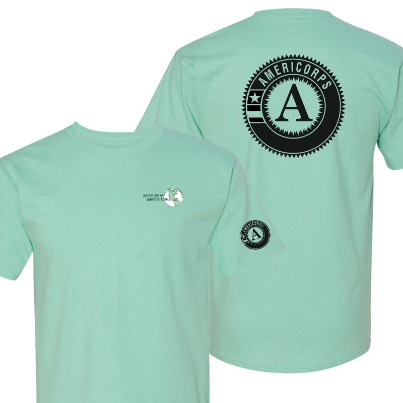 NDMVA Tshirt - Clean Mint
