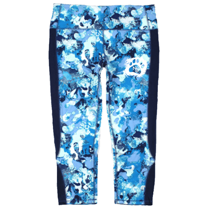 North Bend Bottoms  Blue Horizon Core Capri - Royal