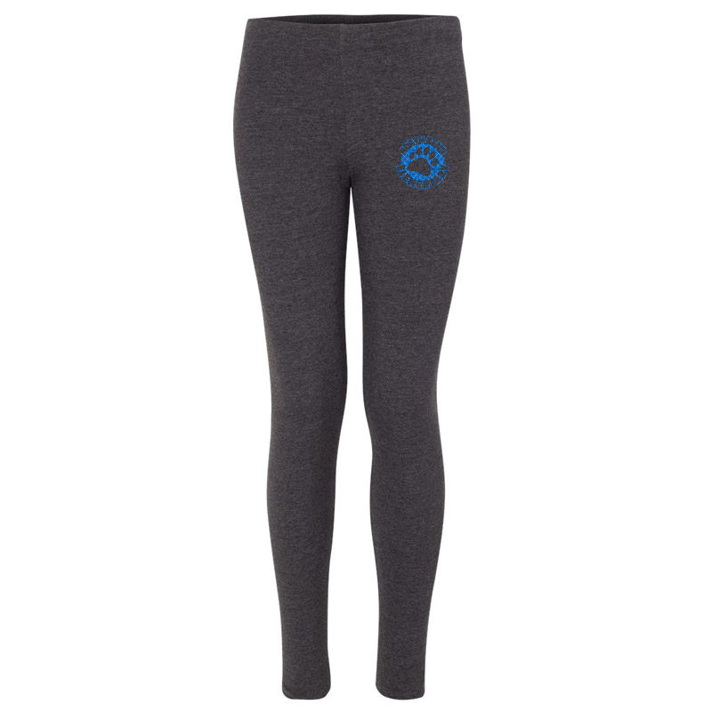 North Bend Patch Leggings- Charcoal
