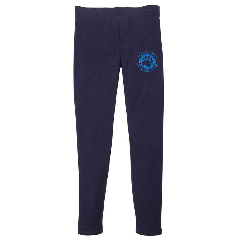 North Bend Patch Leggings- Navy