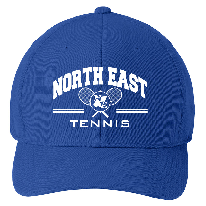 North East Tennis  Flexfit Cool and Dry Mini Pique Cap  - Royal