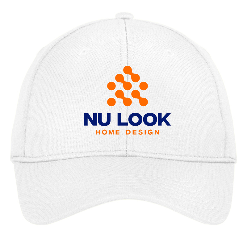 Nu Look Home Design Sport-Tek® PosiCharge® RacerMesh® Cap - White