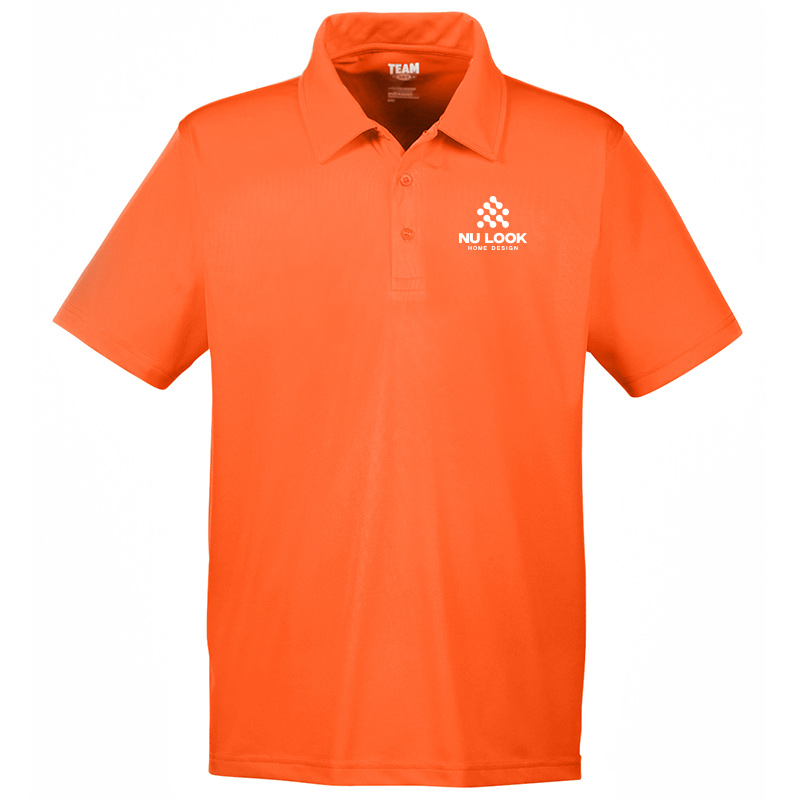 Nu Look Home Design Team 365 Men's Command Snag Protection Polo - Sport Orange