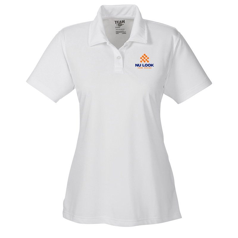 Nu Look Home Design Team 365 Ladies' Command Snag Protection Polo - White