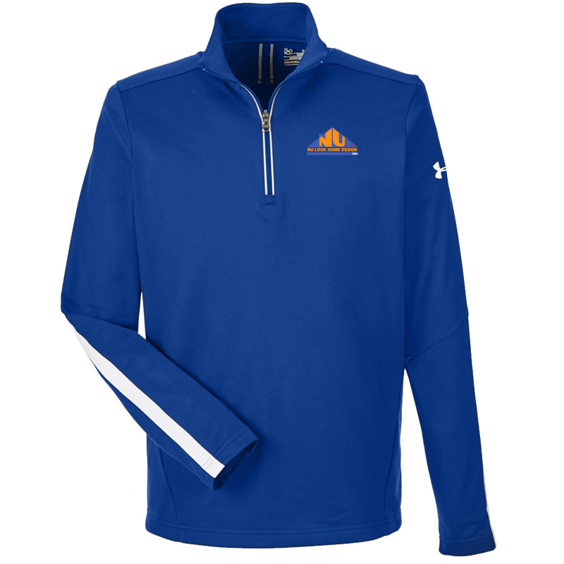 Nu Look Home Design UA Mens Qualifier 1/4 Zip - Royal
