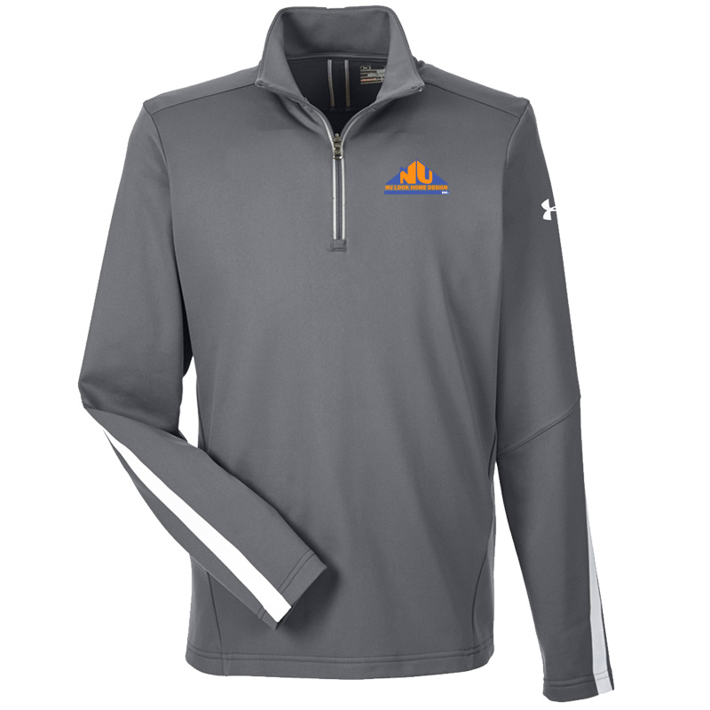 Nu Look Home Design UA Mens Qualifier 1/4 Zip - Graphite