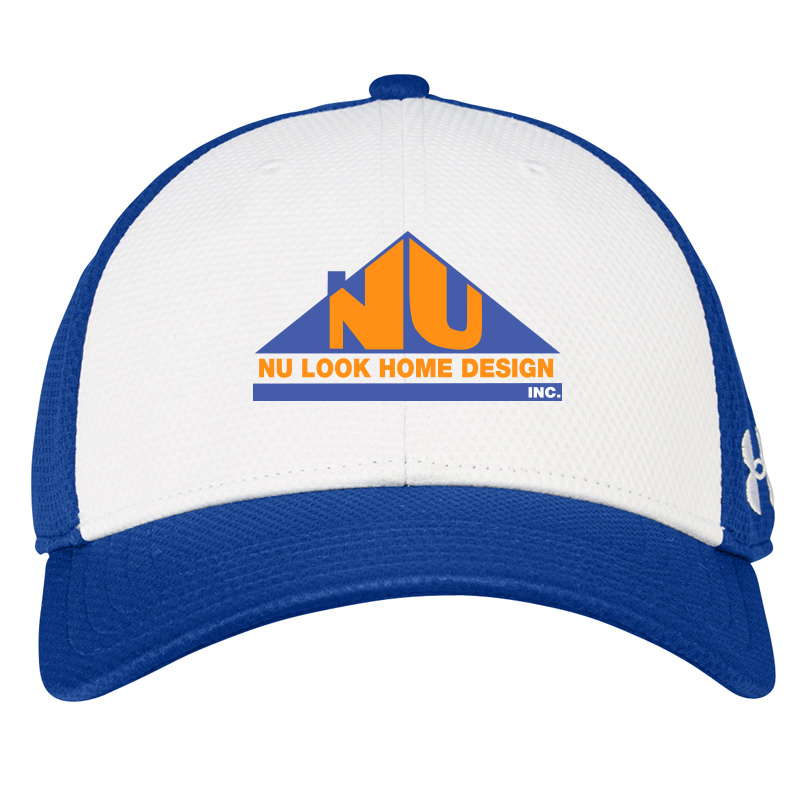 Nu Look Home Design Nike Mesh Back Cap II - Meteor Blue/White