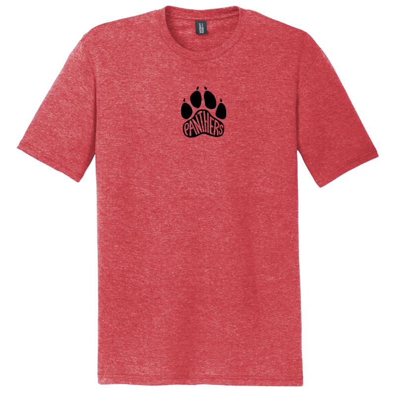 Perry Hall Middle Perfect Tri Tee - Red Frost