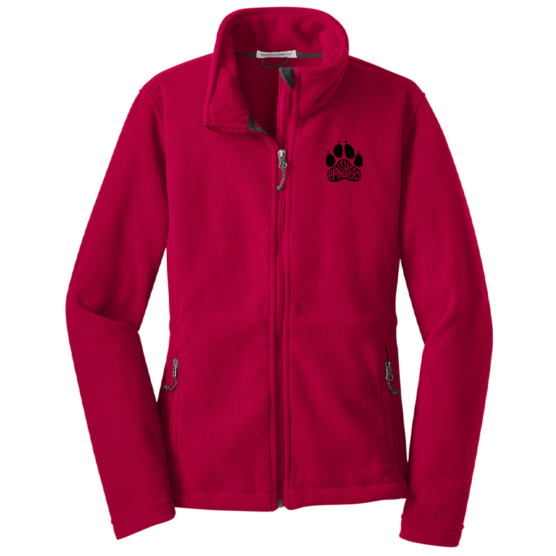 Perry Hall Middle Ladies Value Fleece Jacket - True Red