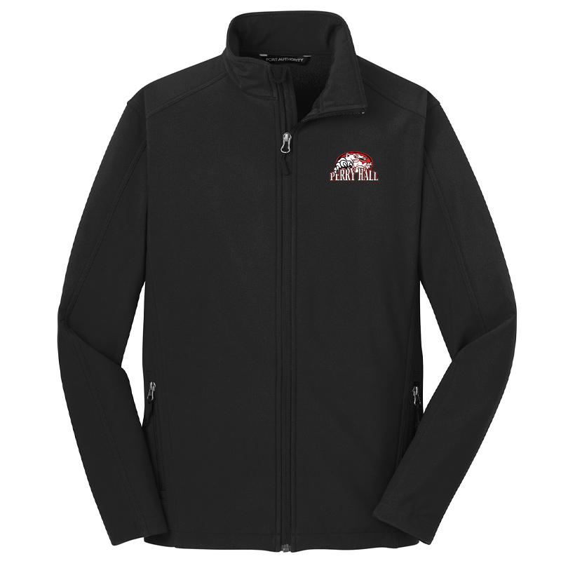 Perry Hall Middle Port Authority® Core Soft Shell Jacket - Black