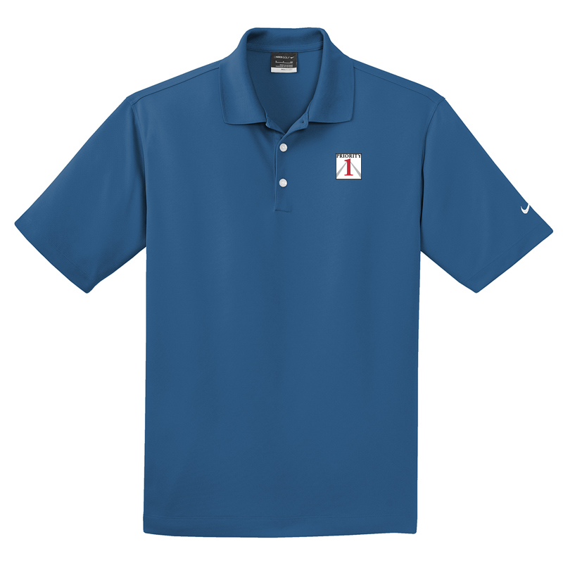 Priorirty 1 Auto Nike Micro Pique Performance Polo Shirt - Cout Blue