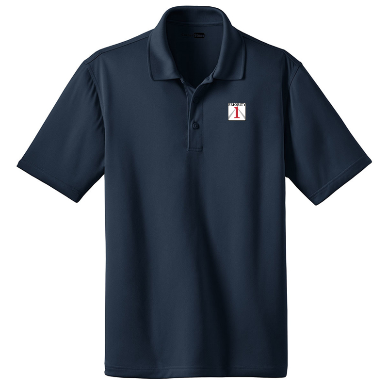 Priorirty 1 Auto Heavyweight Tech Polo Shirt - Navy