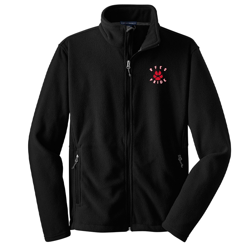 Ring Factory Elementary Value Fleece Jacket - Black