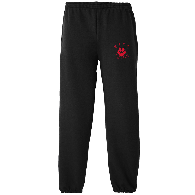 Ring Factory Elementary Essential Fleece Sweatpant - Black
