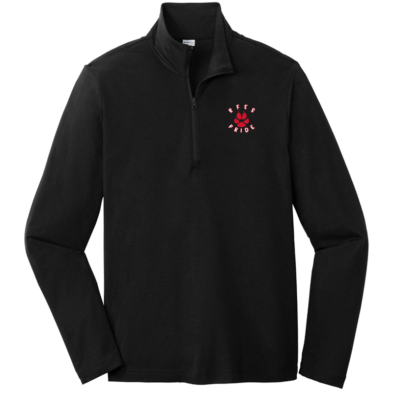 Ring Factory Elementary Quarter Zip Pullover - Black