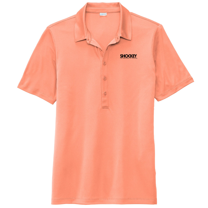 Shockey Women's Polo - Soft Coral