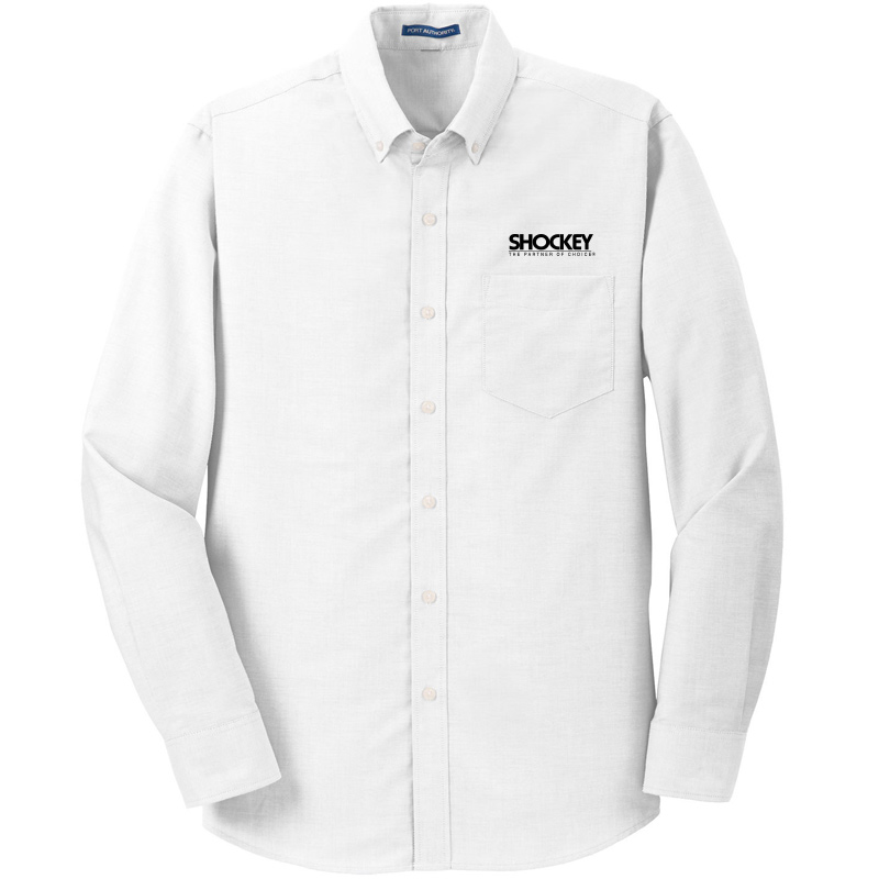 Shockey Men's SuperPro Oxford Shirt - White