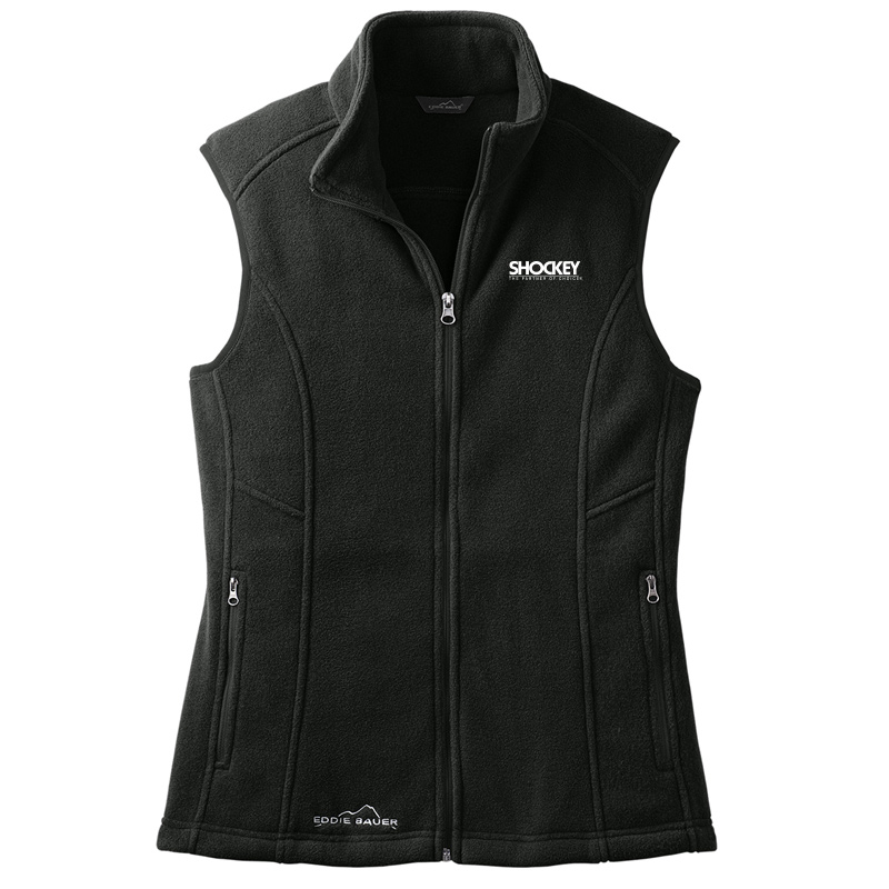 Shockey Black Woman's Vest - Black