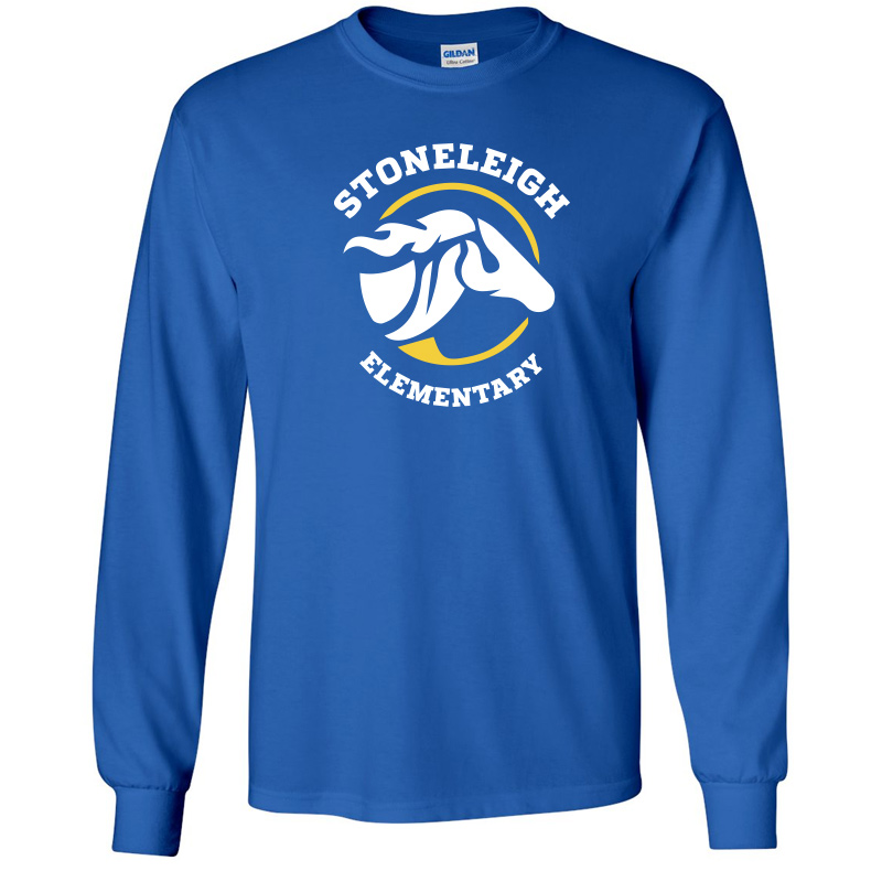 Stoneleigh Elementary Long Sleeve Tshirt-Royal