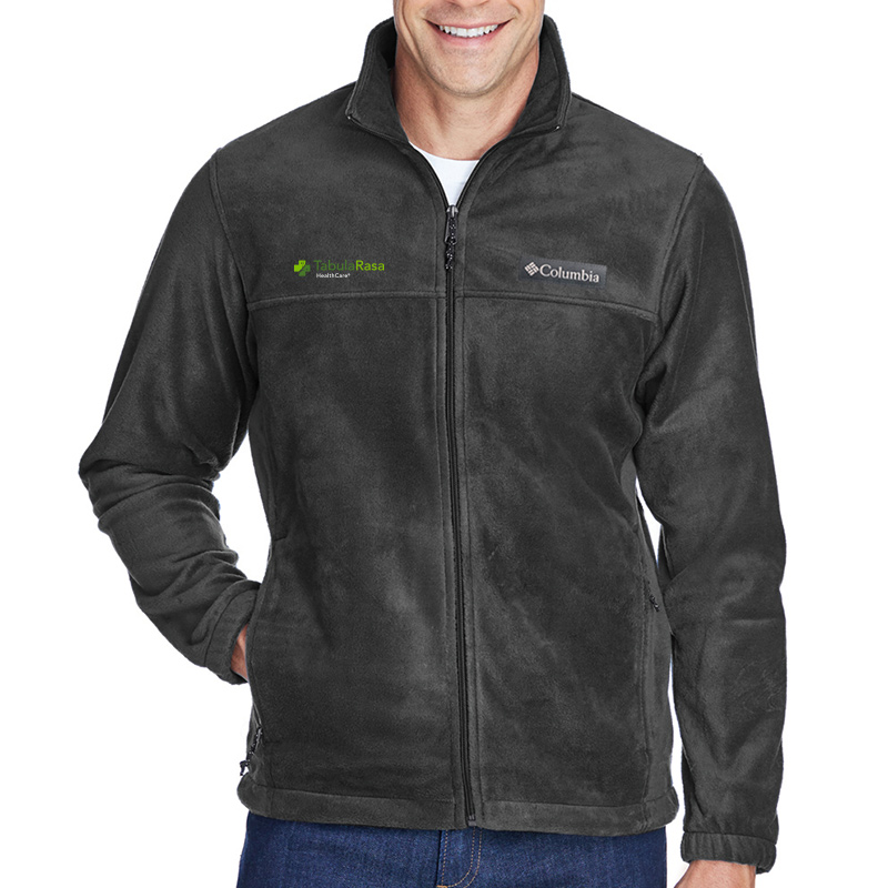 TRHC Columbia Men's Steens Mountain™ Full-Zip 2.0 Fleece - CharcoalHeather