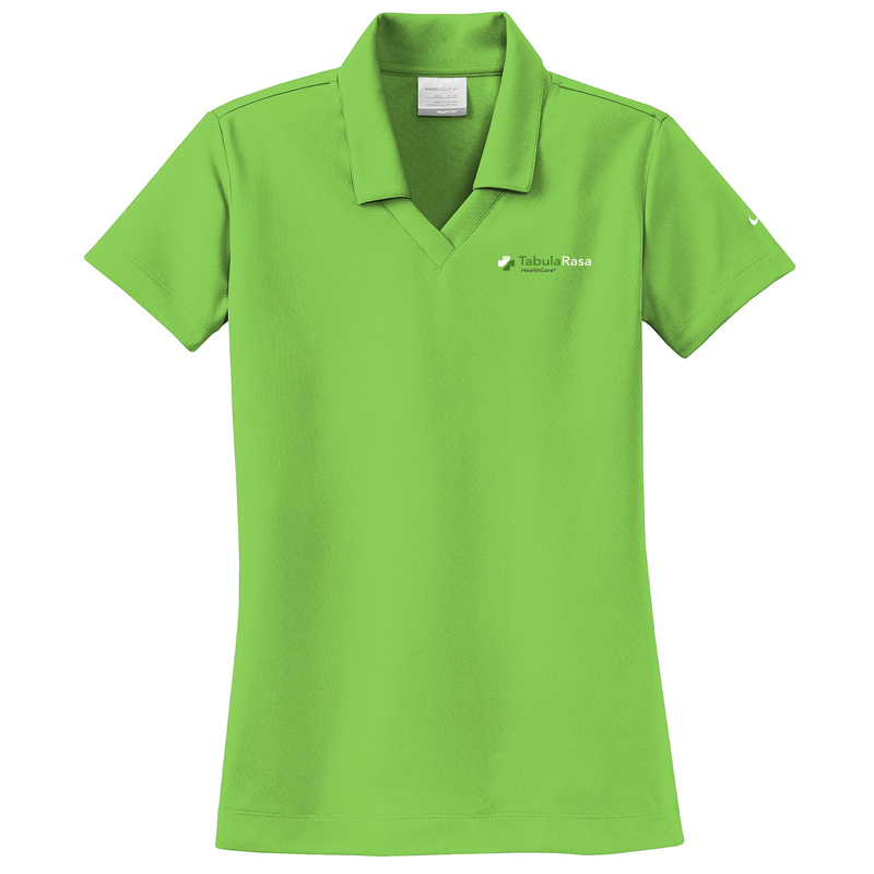 TRHC Nike Ladies Dri-FIT Micro Pique Polo - ActionGreen