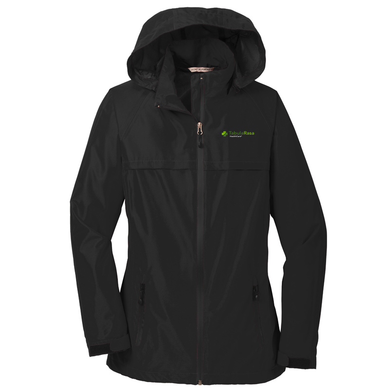 TRHC Port Authority® Ladies Torrent Waterproof Jacket - Black