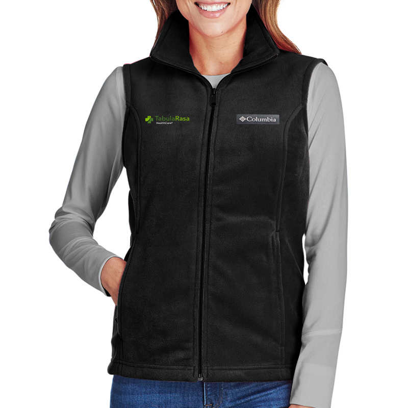 TRHC Columbia Ladies' Benton Springs™ Vest - Black