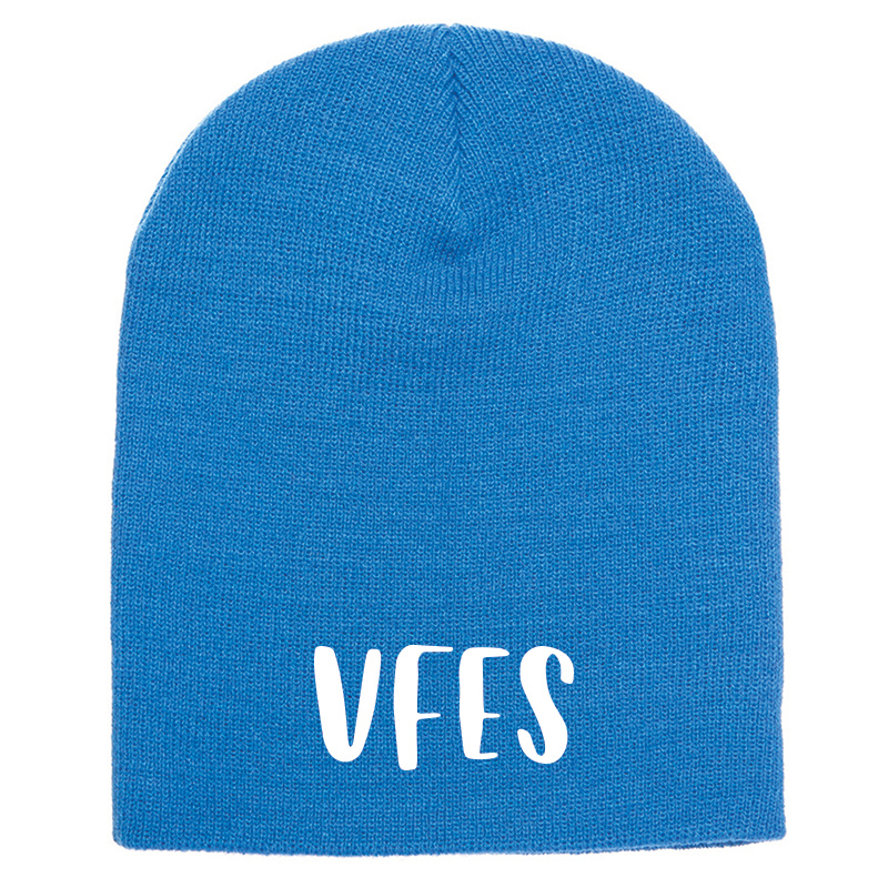 Vincent Farm Beanie Knit Hat - Carolina Blue