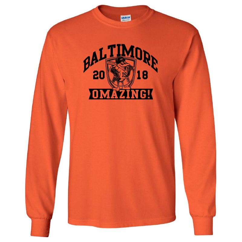 Vincent Farm Baltimore-Long Sleeve Tee