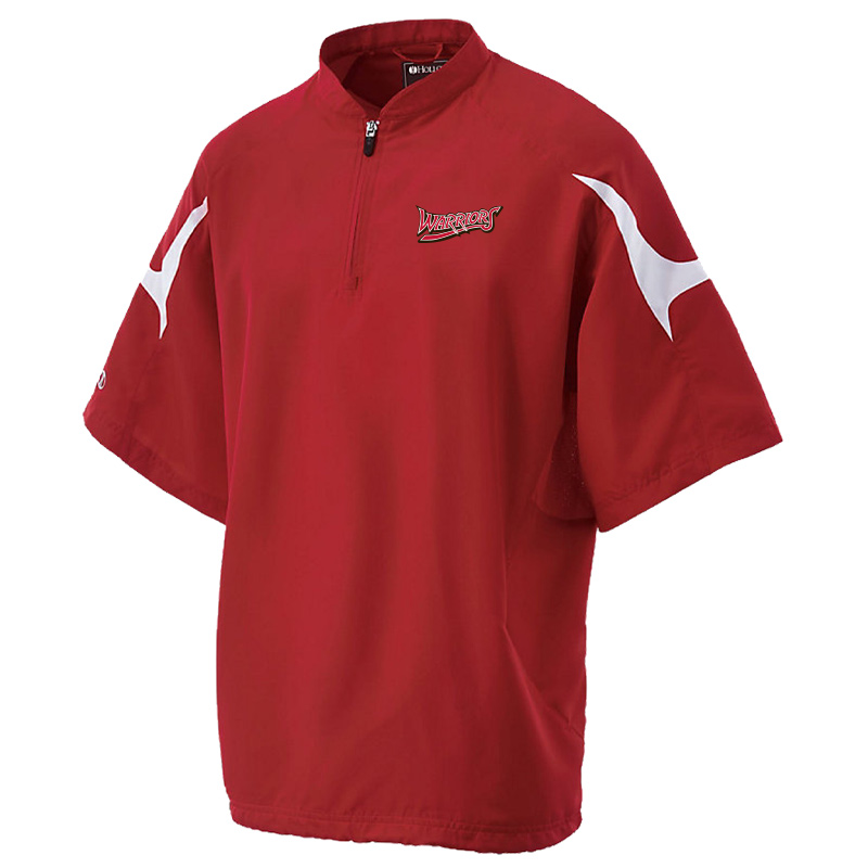 White Marsh Warriors Equalizer Cage Jacket-Red