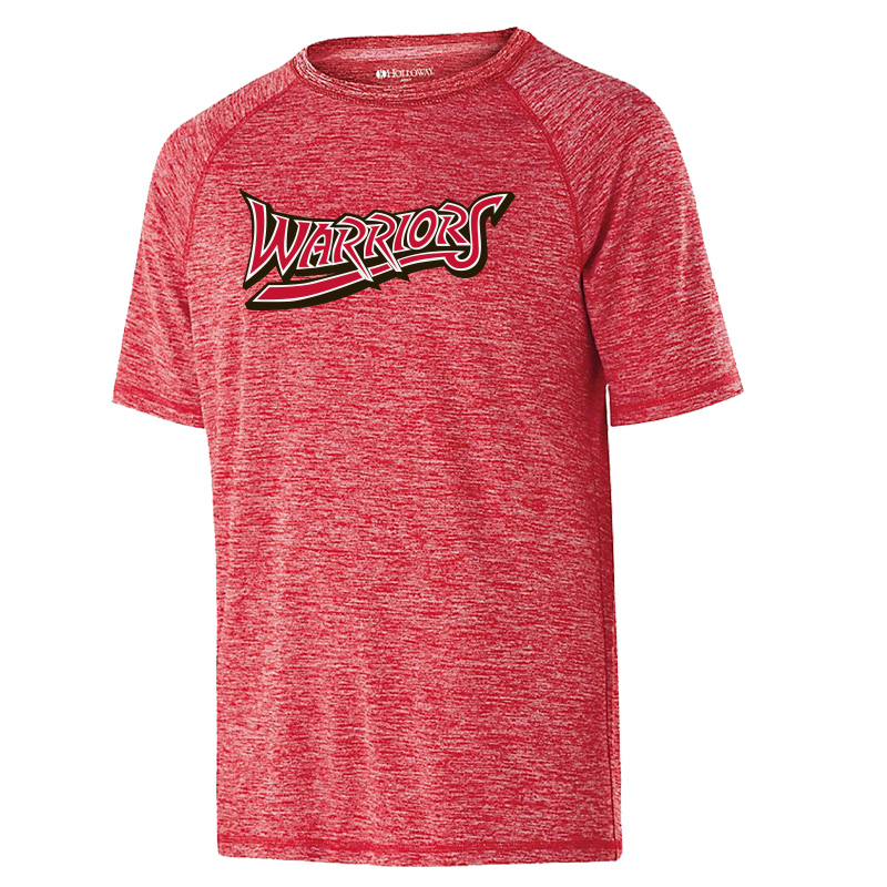 White Marsh Warriors Electrify Soft Wicking Shirt-Red
