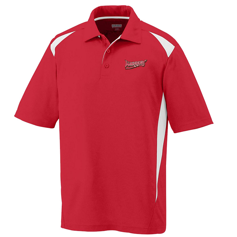 White Marsh Warriors Premier  Polo-Red