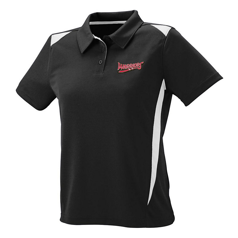 White Marsh Warriors Ladies Premier Polo-Black