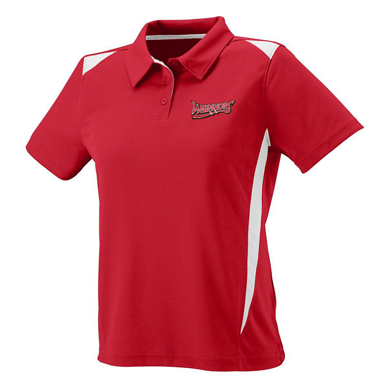 White Marsh Warriors Ladies Premier Polo-Red